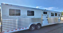 2021 4-Star 6 Horse Trailer w Dress Area