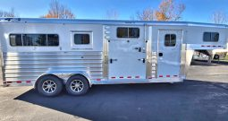 2022 4-Star 2+1 Horse Trailer w Larger Warmblood Stalls